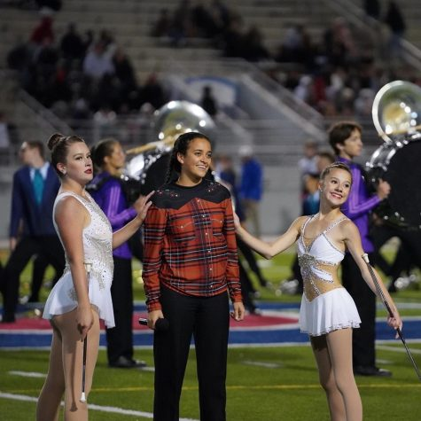 Rachel Marquez performing Desperado at the UIL marching contest.