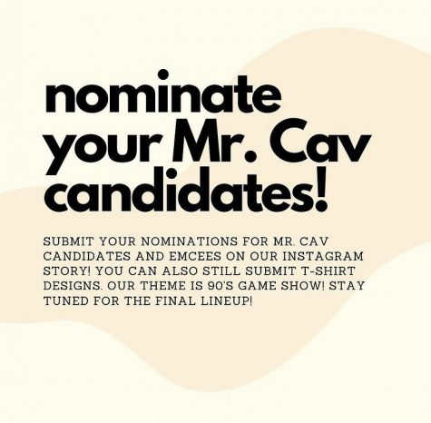 Mr. Cavalier Nominations