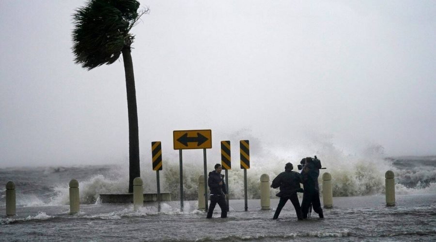 Flooding in Louisiana Coast